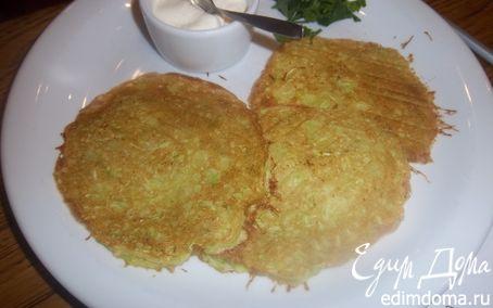 Рецепт Кабачковые оладьи