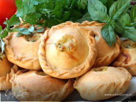Куриные грудки в тесте со сливочным соусом (Бешамель)