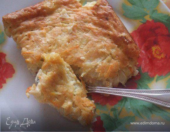Капустный пирог,быстро и вкусно