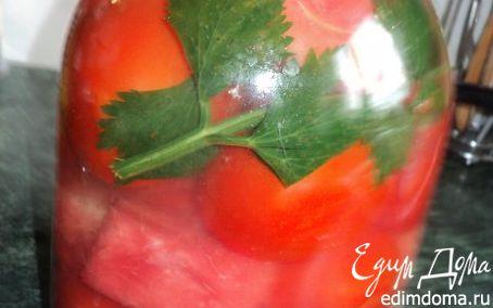 Рецепт Помидоры маринованные с арбузом