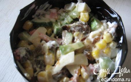 Рецепт салат Лесник