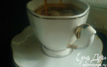 Рецепт Кофе с мёдом и лимонным соком