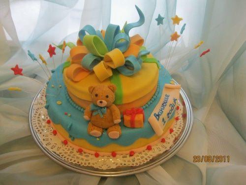 Как сделать торт ребенку в 3 года