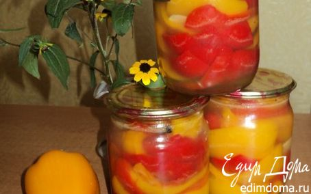 Рецепт Перец маринованный с медом