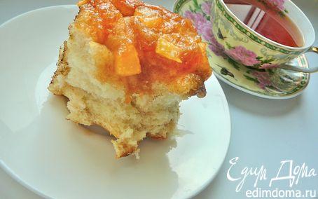 Рецепт Влажные коричные булочки в яблочной карамели