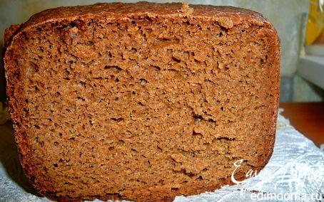 Рецепт хлеб Бородинский(для хлебопечки) в хлебопечке