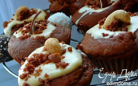 Рецепт Шоко-сырные кексы