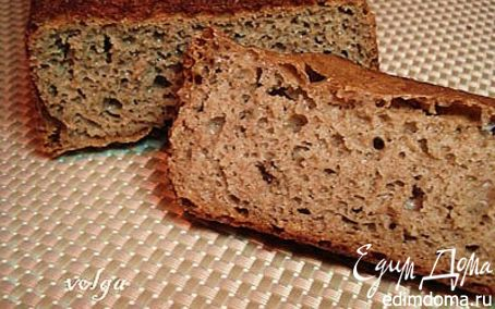 Рецепт Ржаной хлеб на изюмной закваске