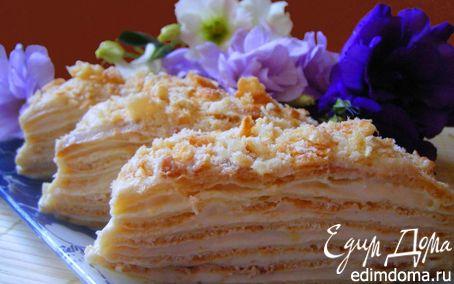 Рецепт La tendresse renversée ( заварной торт)
