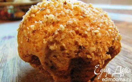 Рецепт Кексы медовые с ореховой посыпкой