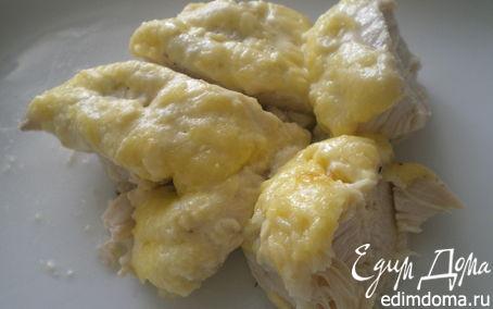 Рецепт Куриное филе под сыром.