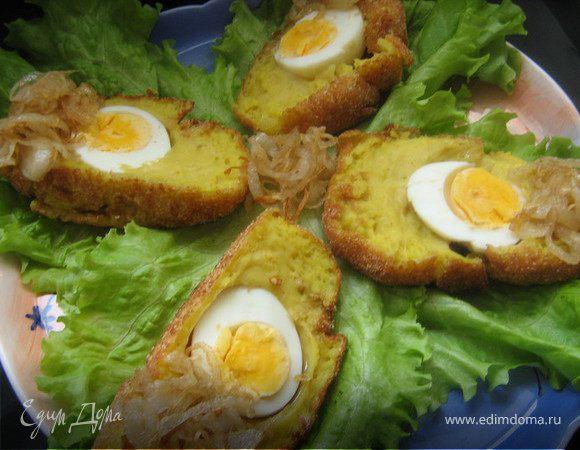 Яйца по-королевски