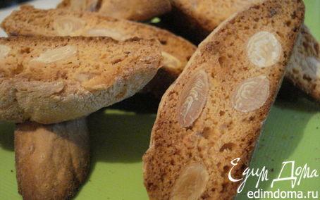 Рецепт Cantuccini (Итальянские бискотти с миндалем)