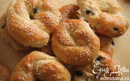 Рецепт Турецкие булочки-Ачма(Açma)