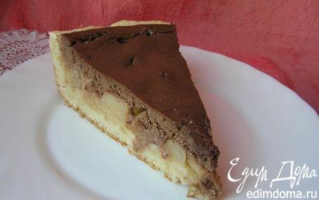 Рецепт Творожно-шоколадный тарт с дыней
