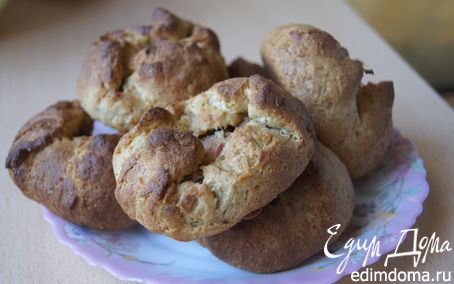 Рецепт Булочки с яблоками в хлебопечке