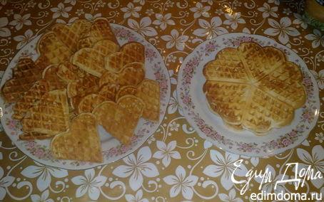Рецепт Бельгийские вафли в вафельнице