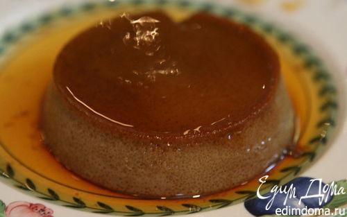 Рецепт Кофейный крем-карамель