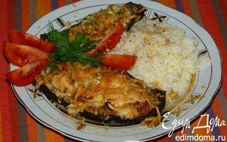 Рецепт Баклажаны фаршированные по-португальски