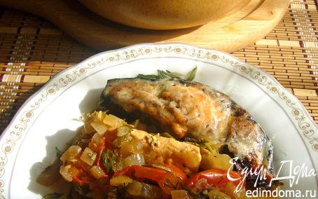 Рецепт Курица под баклажанами