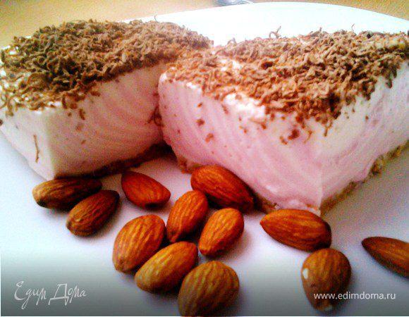 Легкий йогуртовый торт