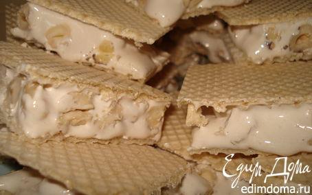 Рецепт Нуга с орехами