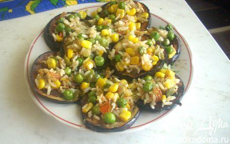 Рецепт Баклажанная закуска с замороженными овощами