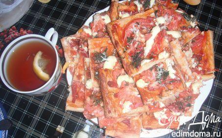 Рецепт Пицца по-быстрому