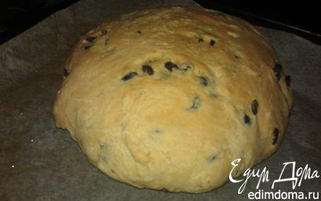 Рецепт Домашний хлеб с маслинами
