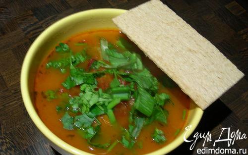 Рецепт Суп из красной фасоли