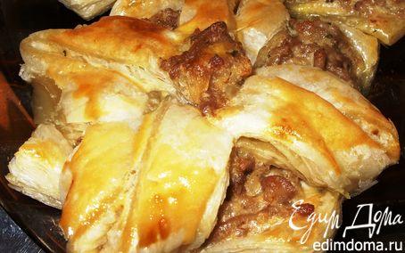 Рецепт Слоечки с мясом