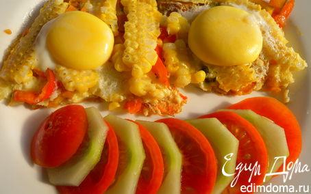 Рецепт Веселые яичницы
