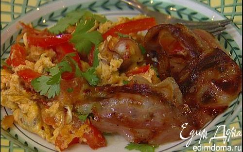 Рецепт Piperade — баскский завтрак