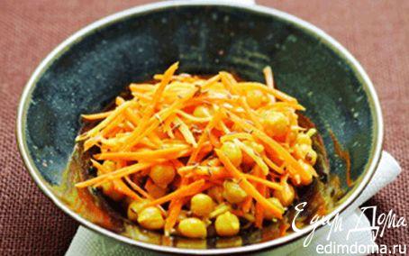 Рецепт Нут с морковью, репой и индийскими специями