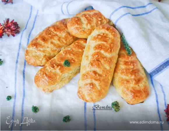 Простые булочки на молоке к завтраку