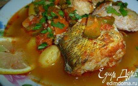 Рецепт Солянка рыбная