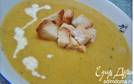 Рецепт Тыквенный крем-суп