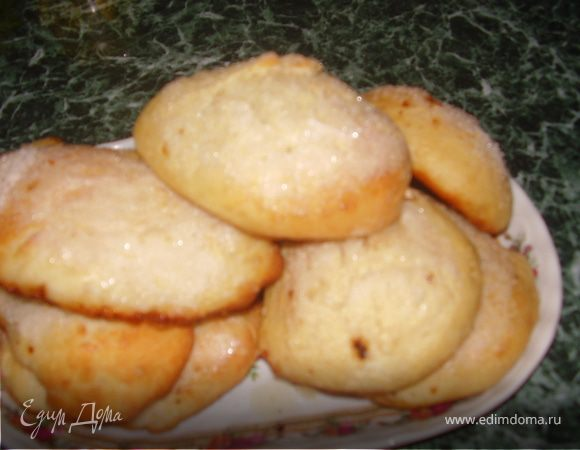 Рецепты булочек с сахаром и но без молока
