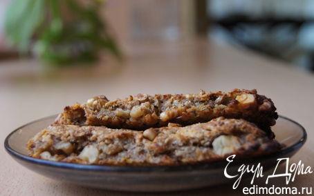 Рецепт Мягкие орехово-злаковые батончики