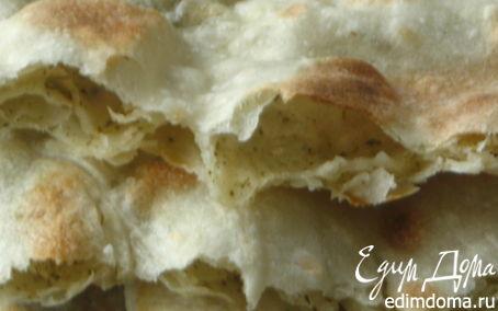 Рецепт Хлеб-лепешка с ореховой травой