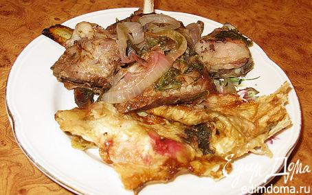 Рецепт Очень вкусные бараньи ребрышки (баранина)