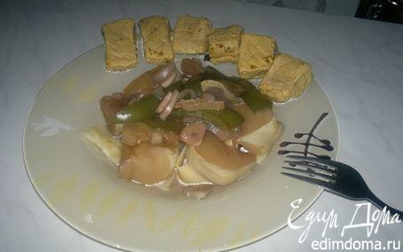 Рецепт Hot pig + овощи гарам масала и итальянские парппадели
