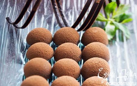 Рецепт Шоколадные трюфели с пралине из рисовых хлопьев Nordic
