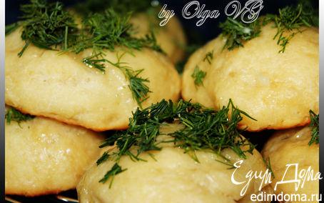 Рецепт Картофельные БУЛОЧКИ на сыворотке