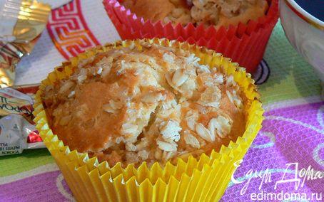 Рецепт кексы со сливой и штрейзелем
