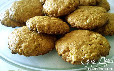 Рецепт Овсяное печенье с семенами подсолнечника