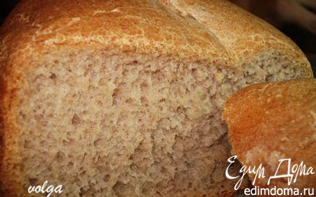 Рецепт Хлеб ржано-пшеничный( в хлебопечке) в хлебопечке