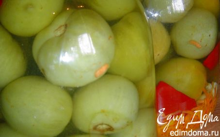 Рецепт Готовимся к зиме: Зеленые помидоры