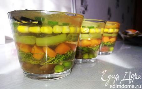 Рецепт Овощное желе