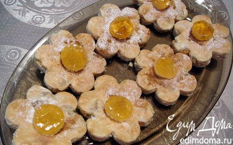 Рецепт Печенье с миндалем и изюмом